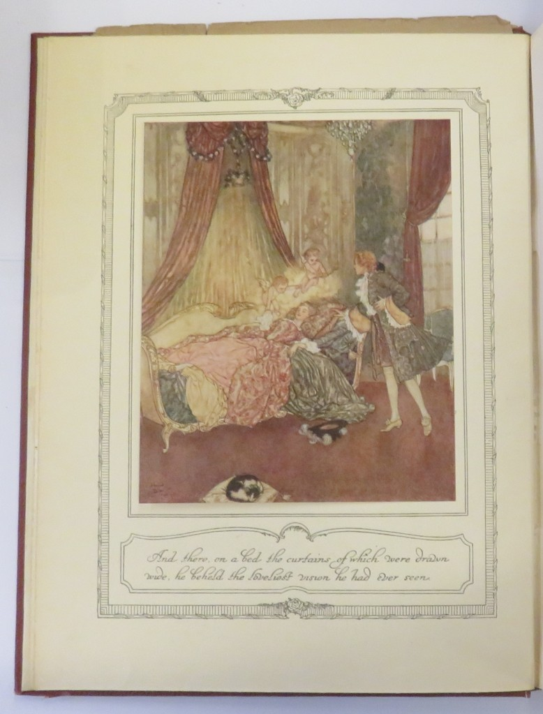 book of fairy tales illustrated by Edmund Dulac